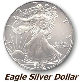 Eagle silver Dollar